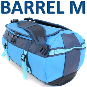 TARPAULIN-Outdoor-Bag-BARREL-M-Bootstasche-gummiert-50-l-Tasche-Rucksack-Blau