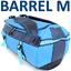 TARPAULIN-Outdoor-Bag-BARREL-M-Bootstasche-gummiert-50-l-Tasche-Rucksack-Blau Indexbild 1