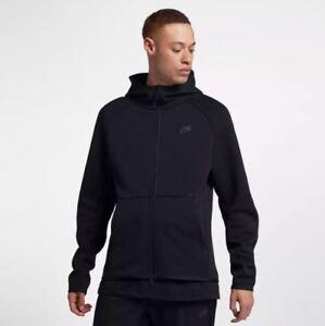 Windrunner New Nike Tf Mens Xl Tech M Black Fleece Hoodie Jacket r60rnZx