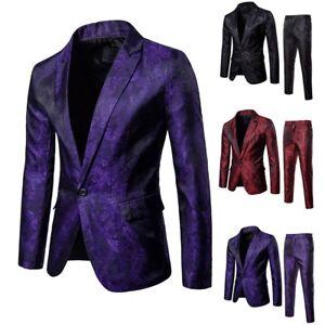 Men-s-Suit-Slim-2-Piece-Suit-Blazer-Business-Wedding-Party-Jacket-Coat-amp-Pants