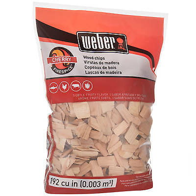 Cherry Wood Chips for Smoking Meat Pork Ribs BBQ Electric Smoker Box Gas Grill