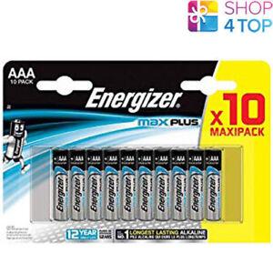 10-ENERGIZER-MAX-PLUS-AAA-LR03-BATTERIEN-ALKALINE-1-5V-MICRO-MN2400-AM4-E92-NEU