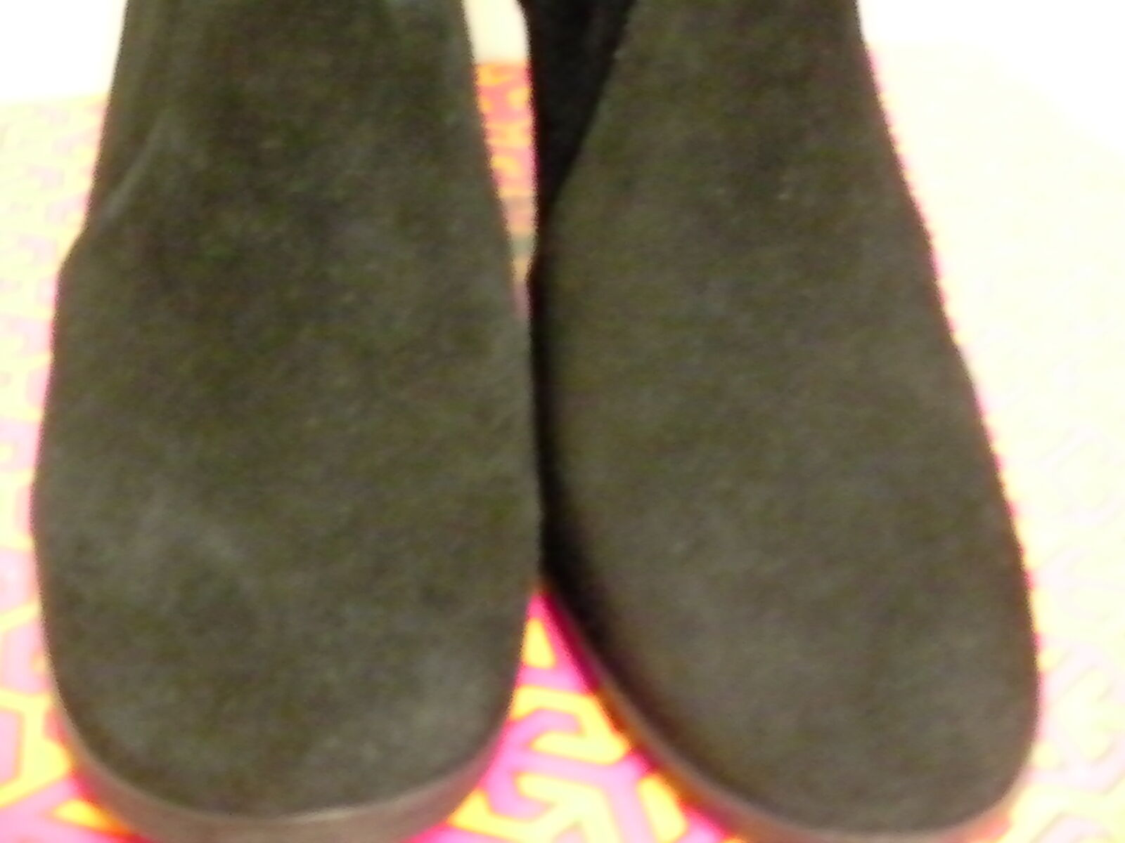 Women's tory burch boots sabe 65mm bootie split suede size size size 5 us ad173d