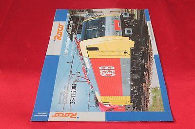 2019 Nuovo Stile Catalogo Modellismo Ferroviario Roco International Collection Autumn 2004 Costo Moderato