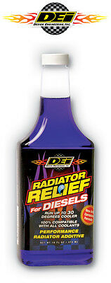 DEI 040204 Radiator Relief For Diesels 16 oz. Coolant Additive Lower Engine Temp