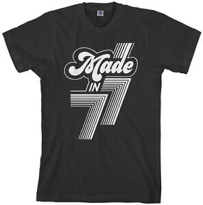 f49bf9c315891 Made in 1977 Men's T-Shirt 40th Birthday Party Gift 77 | eBay