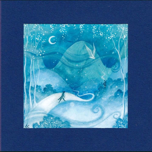 PAGAN WICCAN GREETING CARD Guided Home GODDESS Nature CELTIC AMANDA CLARK