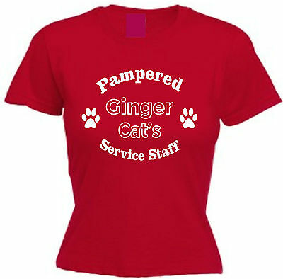 PAMPERED GREYHOUND/'S SERVICE STAFF T-SHIRT Funny Dog Lover Gift Christmas Cotton