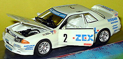 Diligent Nissan Skyline Gt-r Zexel #2 Jgtc 1998 White White 1:43 Rosso Wide Varieties Model Building Toys, Hobbies