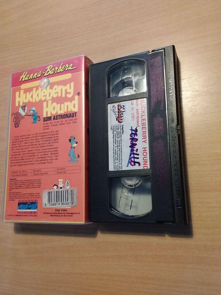 Tegnefilm, Huckleberry Hound som Astronaut