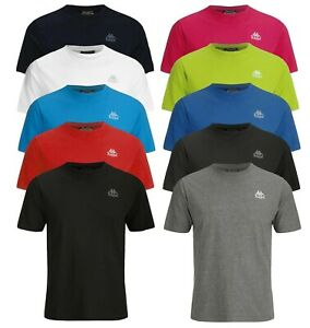 Kappa-Men-039-s-Authentic-Nico-Pack-of-2-Crew-Neck-T-Shirts-Choice-of-Colours