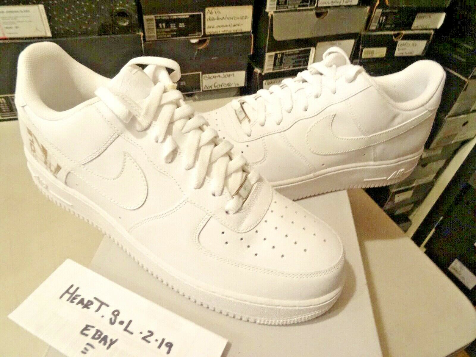 NEW 2007 Nike Air Force 1 Low   Sole Collector Magazine   315122-111 AF1 SZ 13