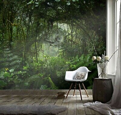Details about  /3D Green Woods 521 raih Wallpaper Mural Self Adhesive Removable Sticker Amy show original title