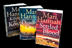 Mari-Hannah-Kate-Daniels-3-Books-Collection-Set-Settled-Blood-Deadly-Deceit-Ki