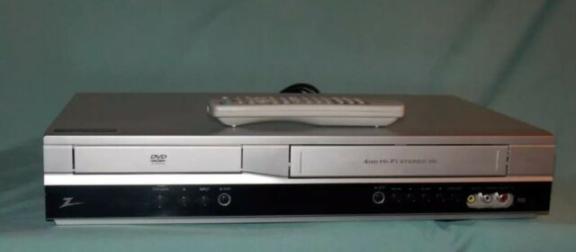 Zenith XBV713 VHS Video Cassette Recorder VCR/DVD Combo Player with remote NICE