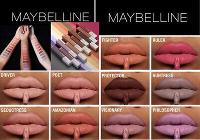 Maybelline Superstay Un Nudes Matte Ink Liquid Lipstick U Pick Shade New Ebay