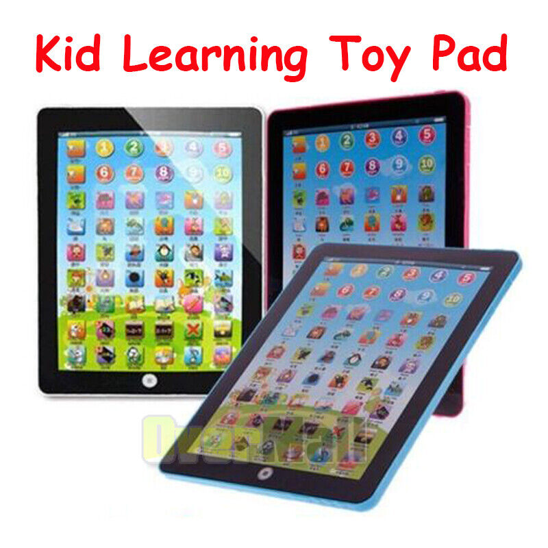 Tablet Ipad Computer IQ Training Educational Game Learning Study Toys Kid Laptop 2