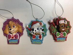 image is loading set of 3 paw patrol christmas tree ornaments - Paw Patrol Christmas Tree Decorations