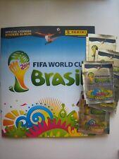 on HAND  Panini Brazil 2014 - 1 Sticker Album + 100 Packs FIFA World Cup Brasil
