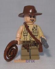 Lego Indiana Jones with Torn Sleeve from set 7199 The Temple of Doom NEW iaj033