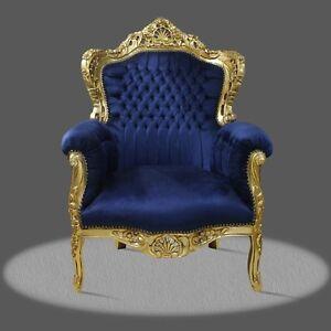 Poltrona Sedia Trono In Stile Barocco | eBay