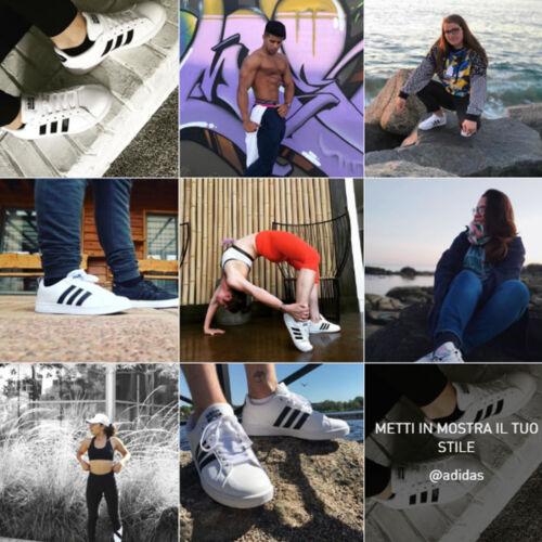 Scarpe adidas AW4294 sneackers CF ADVANTAGE LEATHER in pelle White