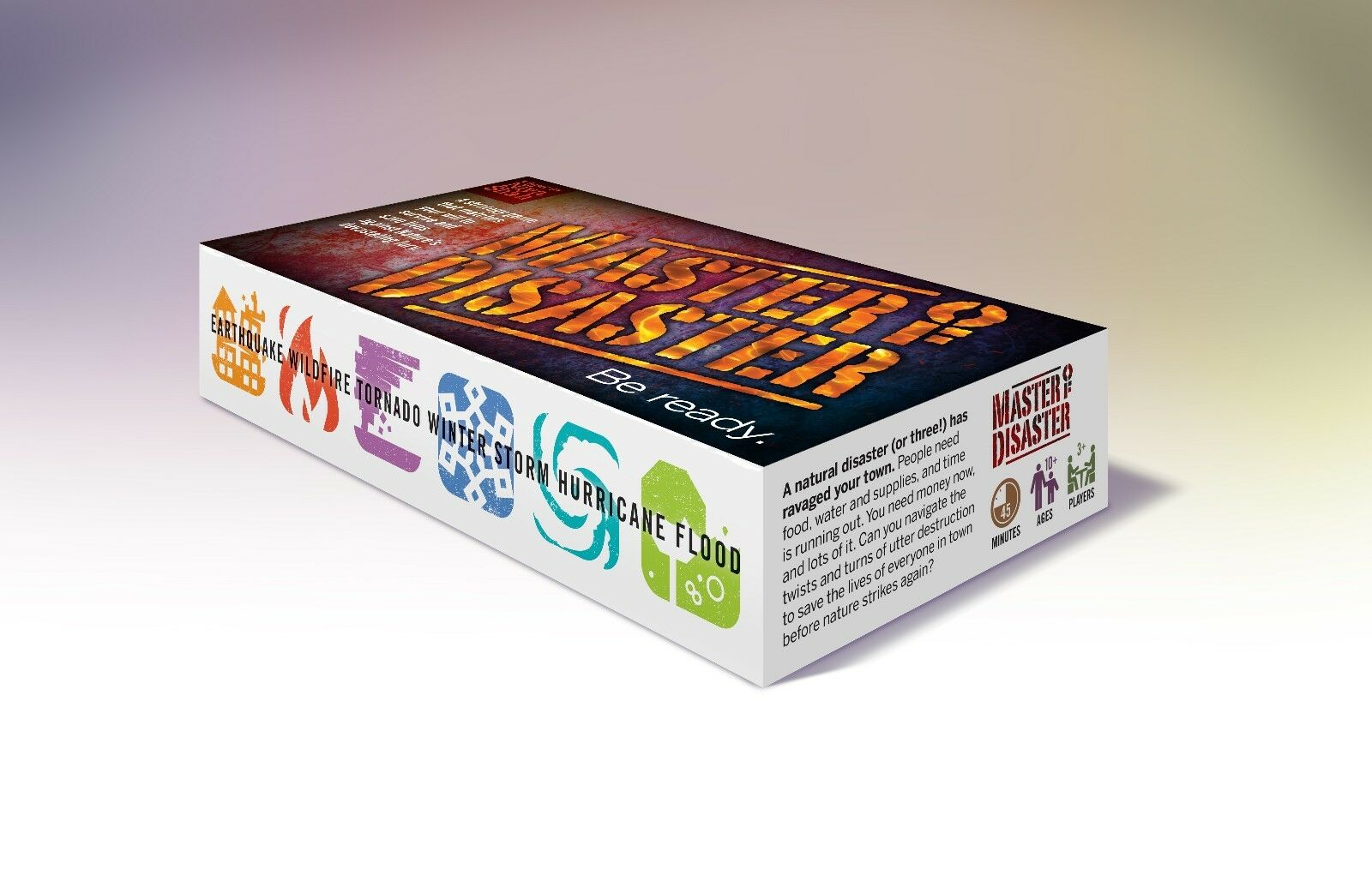 Master of Disaster- An Educational Board Game About Natural Disasters