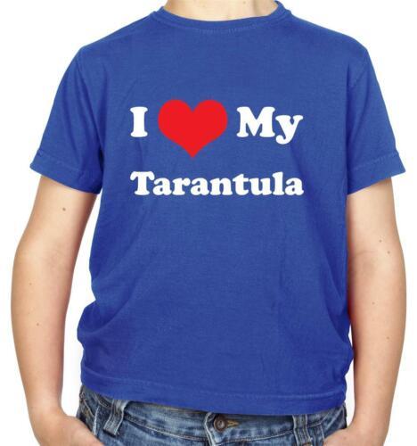 Pet I Love My Tarantula Kids T-Shirt Gift Animal Present Spider