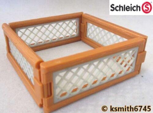 Schleich petit animal Stylo solide Jouet en plastique Ferme Pet Animal Clôture * NOUVEAU *