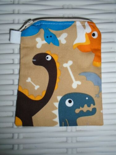 DINOSAUR PURSE GIFT IDEA DINOSAURS BOYS GIRLS CASES MONEY PURSES COINS XMAS