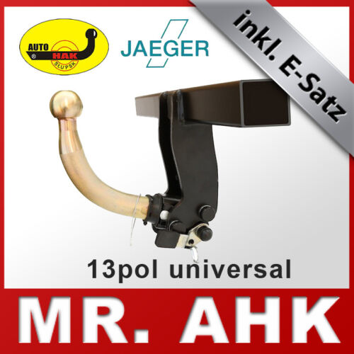 Kia Carens FJ 02-06 Anhängerkupplung AHK abnehmbar 13pol E-Satz