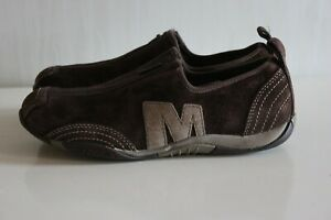 MERRELL-Brown-Suede-Flat-Shoes-UK4-EUR37-GUC