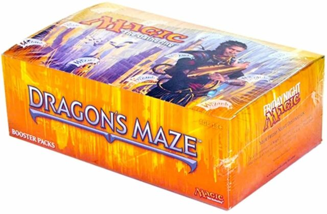 Theme Deck Wizards of the Coast WOCMTGDMIP-GRUULSIEGE Magic the Gathering Dragons Maze Intro Pack: Gruul Siege MTG Includes 2 Booster Packs