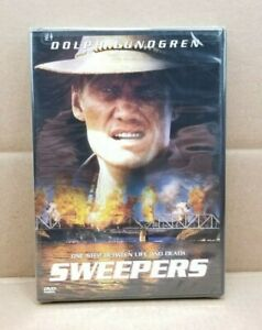 Sweepers-DVD-1998-Dolph-Lundgren-Bruce-Payne-NEW-amp-SEALED-RARE-amp-OOP