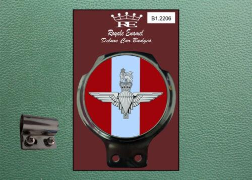 ROYALE Classic Car Badge /& Bar Clip PARACHUTE REGIMENT Ulma Vigano B1.2206
