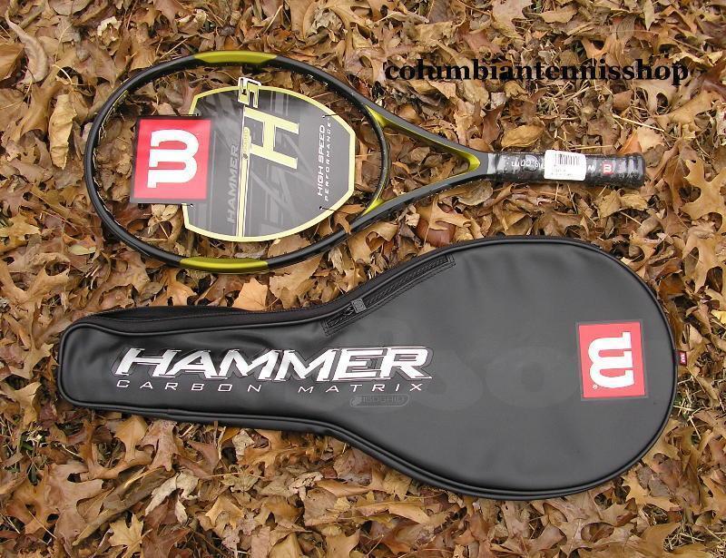 Nuevo Martillo 5 Wilson H5 H 5 113 1 2 L4 (4) + Estuche Encordada Raqueta Opt. Org.  189