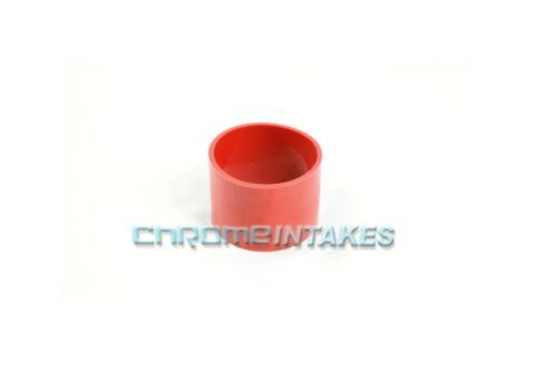 """RED 3/""""-3/"""" AIR INTAKE//PIPING RUBBER COUPLER FOR CHEVY 89-99"""