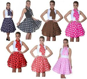 Rock and roll 50s style dress