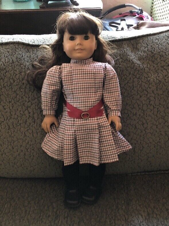 American Girl Pleasant Company 18  Samantha Very Gently Used in ORIGINAL OUTFIT