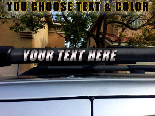 "Roof rack DECALS Fits 2010-2014 XTERRA /""YOU CHOOSE COLOR/"""