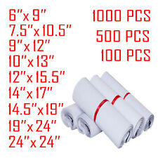 Lot 1000 6x9 9x12 10x13 Inch Poly Mailers Shipping Envelopes Self Sealing Bags
