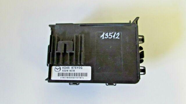 Mazda cx-5 Body Control Module kd45675y0g 36 MG