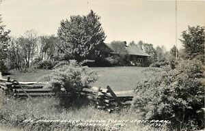 Nashville-Indiana-Real-Photo-Abe-Martin-Lodge-Brown-St-Park-amp-Grandma-Moses-1951