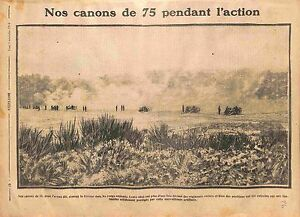 Artillery-Canon-Obus-de-75-Poilus-Bataille-de-la-Marne-Armee-Francaise-WWI-1914