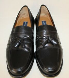 Dockers Mens Brown Leather Loafers Slip On Dress Shoes Size 11 M Brazil