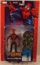 Spider-Man Classics Series 8 - Street Fighting Spiderman Sewer Lid Hurling MOC)