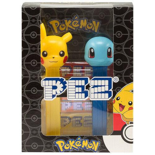 Austria 2019 Ed Pokémon Giftset Set of 2 European PEZ dispensers Mint in Box
