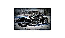 1947 Indian Chief1 Bike Motorcycle A4 Retro Metal Sign Aluminium