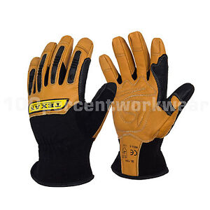 Texan-Reinforced-Leather-General-Handling-Work-Safety-Gloves-Rigger-Warm-Lined