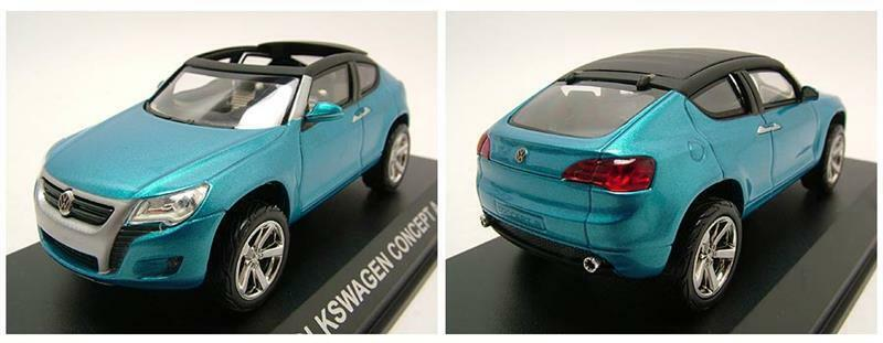 VW Concept A bluee, Model car 1 43   Norev
